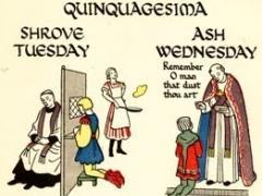Quiquagesima Eve Fun Night